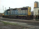 CSX 2549, GP38-2, IDLE AT ROUGEMERE YARD